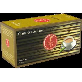 Julius Meinl China Green Pure - Nefermentuota žalioji arbata pakeliais 25 vnt.