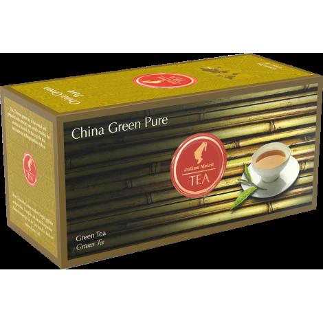 Nefermentuota žalioji arbata pakeliais Julius Meinl China Green Pure 25 vnt.