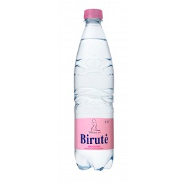 BIRUTĖ gazuotas natūralus mineralinis vanduo, 0,5 L