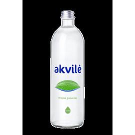 AKVILĖ lengvai gazuotas mineralinis vanduo, 0.75 L