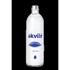 AKVILĖ natūralaus skonio mineralinis vanduo, negazuotas 0.75 L