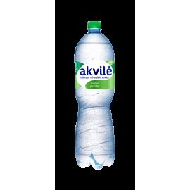 AKVILĖ lengvai gazuotas natūralus mineralinis vanduo, 1.5 L