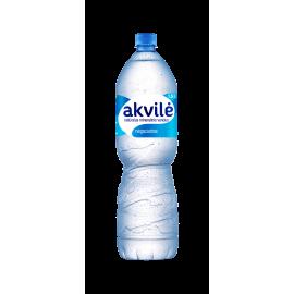 Negazuotas natūralus mineralinis vanduo AKVILĖ, 1,5 l