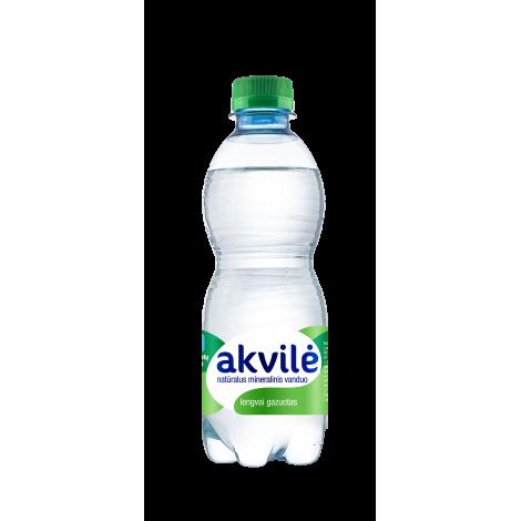 AKVILĖ lengvai gazuotas natūralus mineralinis vanduo 0.33L