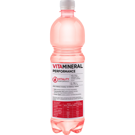 VITAMINERAL Performance – VITALITY, 0,75L