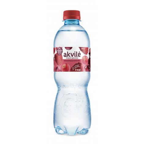 Lengvai gazuotas natūralus mineralinis vanduo AKVILĖ, 1.5 l