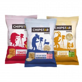 Chipstar grietinėlės ir svogūnų skonio, 60g