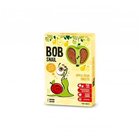 BOB SNAIL ritinėliai, obuolių - kriaušių skonio, 60g