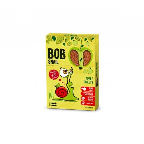 BOB SNAIL ritinėliai, obuolių skonio, 60g