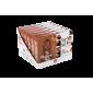 JANNIS riešutų batonėliai su juoduoju šokoladu ir rūgščiomis vyšniomis, 90 g (3x30g)
