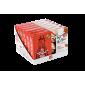 JANNIS riešutų ir medaus batonėliai su obuoliais ir cinamonu, 90g (3x30g)