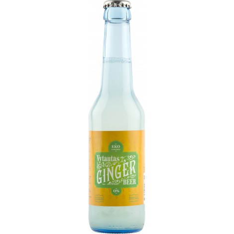 Ekologiškas Imbierinis nealkoholinis alus 0,275 L