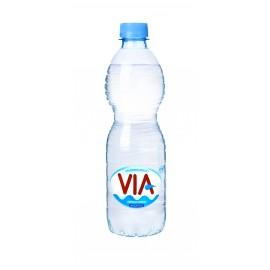 VIA negazuotas natūralaus skonio vanduo, 0.5 L
