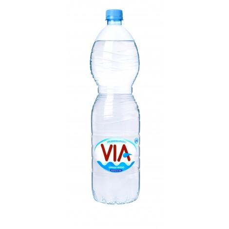 Negazuotas stalo vanduo VIA, 1.5 L